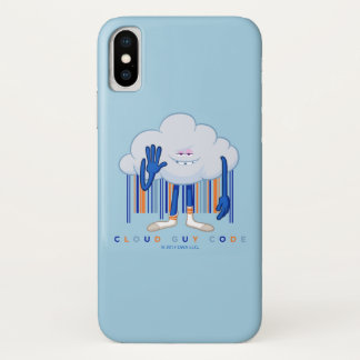 Trolls| Cloud Guy Code iPhone X Case