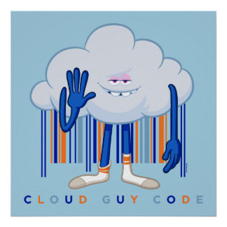 Trolls| Cloud Guy Code Poster