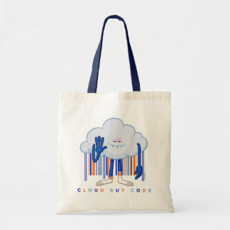 Trolls| Cloud Guy Code Tote Bag