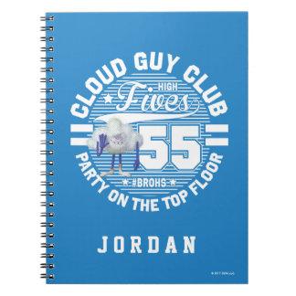 Trolls | Cloud Guy Salute Spiral Notebook