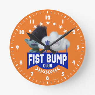 Trolls | Fist Bump Round Clock