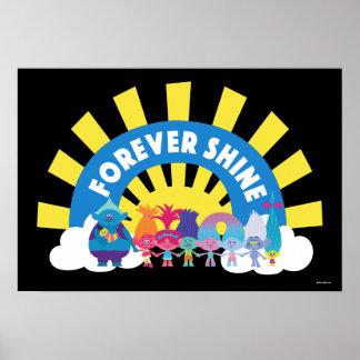 Trolls | Forever Shine Poster