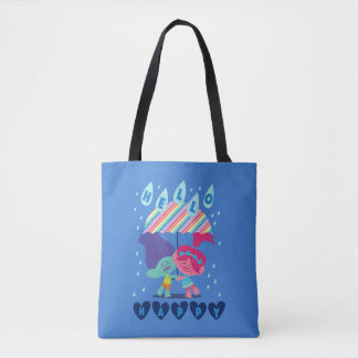 Trolls | Happy Rain Drops Tote Bag