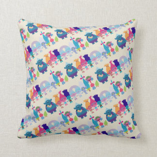 Trolls | Hug Time Pattern Cushion