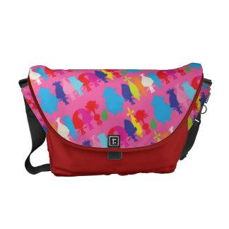 Trolls | Hugfest Pattern Courier Bag