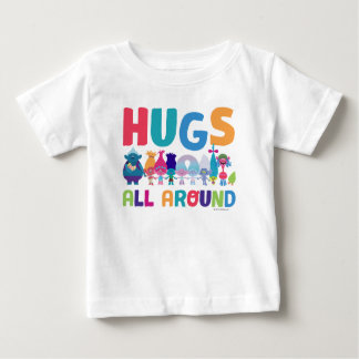 Trolls | Hugs All Around Baby T-Shirt