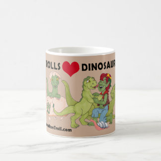 Trolls Love Dinosaurs Hot Chocolate Mug
