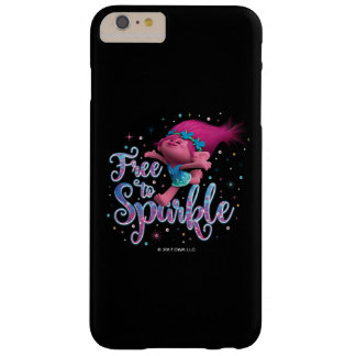 Trolls | Poppy Free to Sparkle Barely There iPhone 6 Plus Case