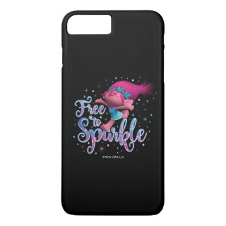 Trolls | Poppy Free to Sparkle iPhone 8 Plus/7 Plus Case
