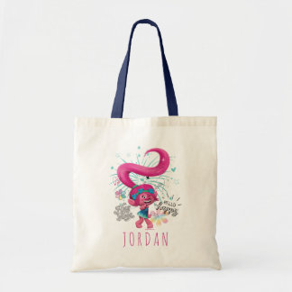 Trolls | Poppy Hello Happy Tote Bag