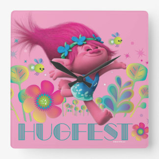 Trolls | Poppy - Hugfest Square Wall Clock