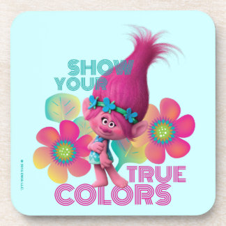 Trolls | Poppy - Show Your True Colors Coaster