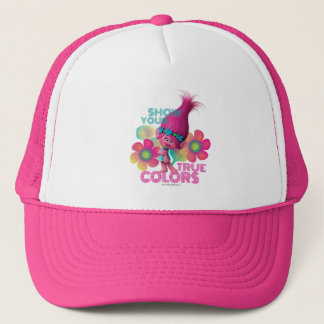 Trolls | Poppy - Show Your True Colors Trucker Hat