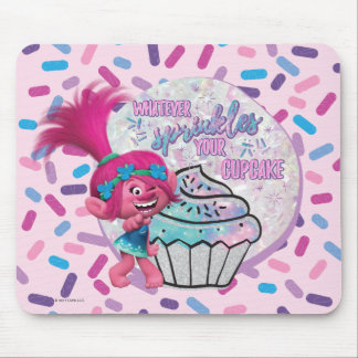 Trolls | Poppy Sprinkle your Cupcake Mouse Pad