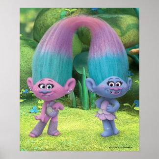 Trolls   Satin & Chenille 2 Poster