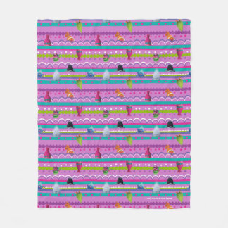 Trolls | Show Your True Colors Pattern Fleece Blanket