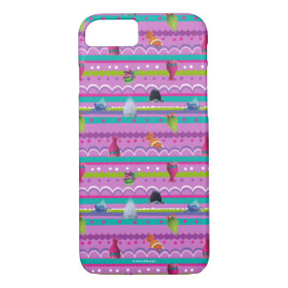 Trolls | Show Your True Colors Pattern iPhone 7 Case