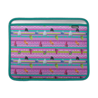 Trolls | Show Your True Colors Pattern MacBook Sleeve