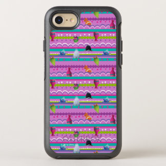Trolls | Show Your True Colors Pattern OtterBox Symmetry iPhone 7 Case