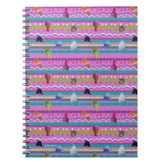 Trolls | Show Your True Colors Pattern Spiral Notebook