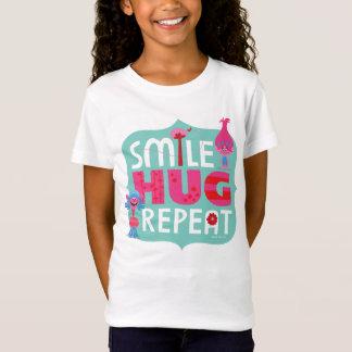 Trolls | Smile, Hug, Repeat T-Shirt