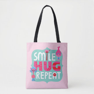 Trolls | Smile, Hug, Repeat Tote Bag