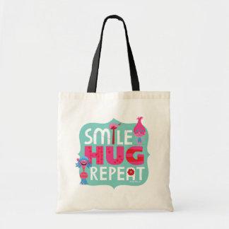 Trolls | Smile, Hug, Repeat Tote Bag
