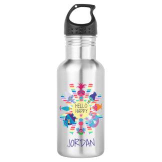 Trolls | Snack Pack Rainbow Sun 532 Ml Water Bottle