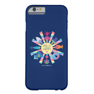 Trolls | Snack Pack Rainbow Sun Barely There iPhone 6 Case