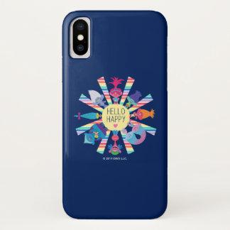 Trolls | Snack Pack Rainbow Sun iPhone X Case
