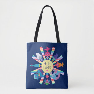 Trolls | Snack Pack Rainbow Sun Tote Bag