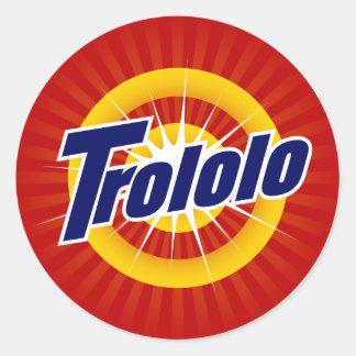 Trololo Small Stickers