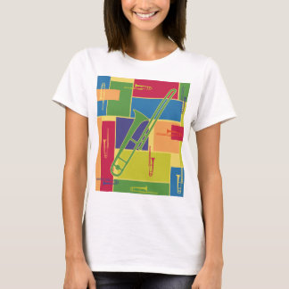 Trombone Colorblocks T-Shirt
