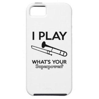 trombone designs iPhone 5 covers