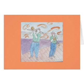 trombone frenzy card