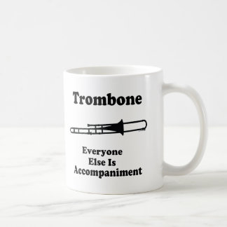 Trombone Gift Basic White Mug
