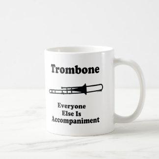 Trombone Gift Classic White Coffee Mug
