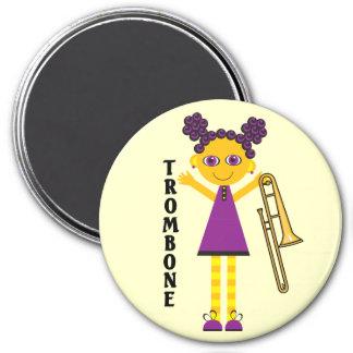 Trombone Girl Magnet