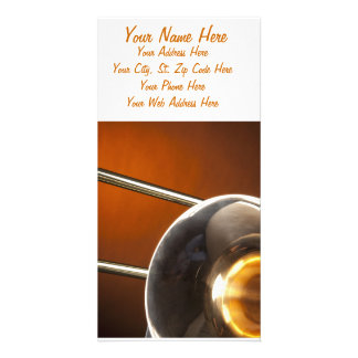 Trombone Image Photo Cards
