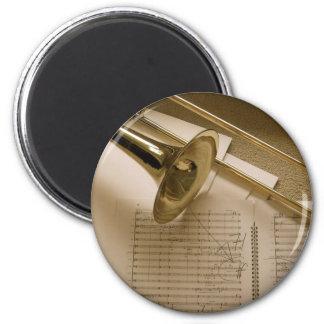 Trombone magnet