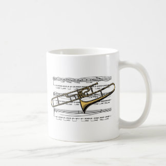 Trombone Musical 14 B Coffee Mug