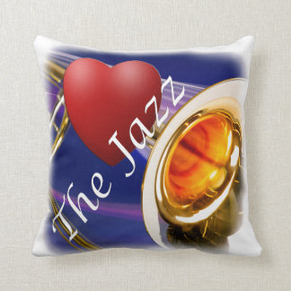 Trombone Musician Love Jazz Through Pillow