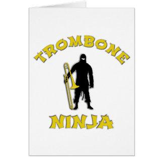 Trombone Ninja Card
