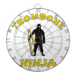 Trombone Ninja Dart Boards