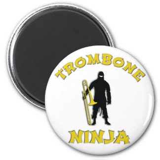 Trombone Ninja Magnet