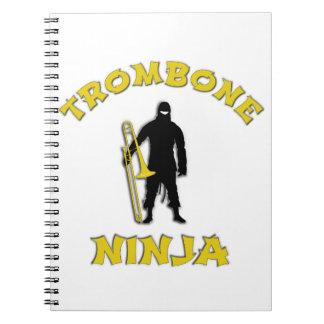 Trombone Ninja Notebooks