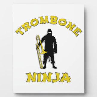 Trombone Ninja Plaques