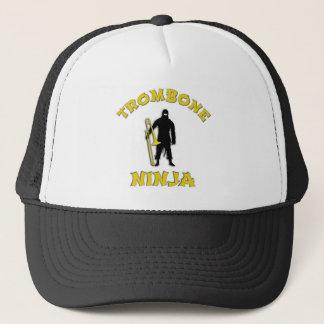 Trombone Ninja Trucker Hat