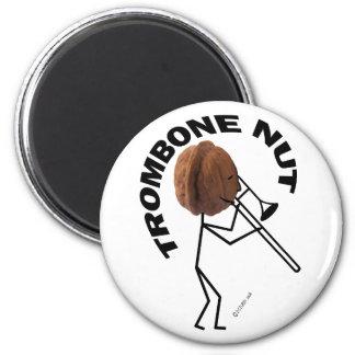 Trombone Nut Magnet