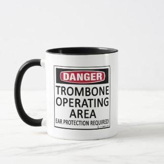 Trombone Operating Area Mug
